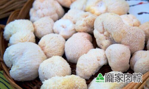 八大山珍之一,猴頭菇食材介紹(龐家肉粽端午節素粽子食材介紹)